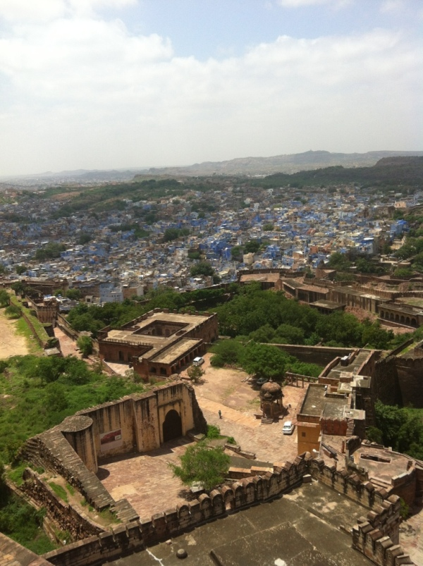 jodhpur, india, rajasthan, blue city