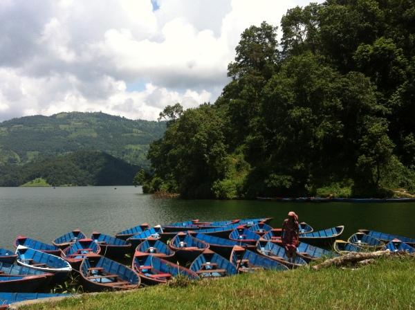 Begnas Tal Lake, nepal, asia, pokhara