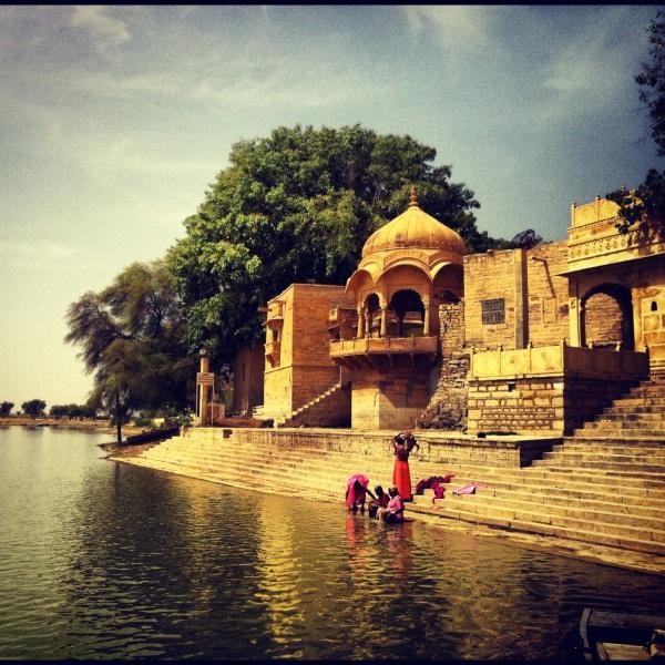 Jaisalmer lake, india, asia, rajasthan, desert safari, camel safari, pakistan boarder with india