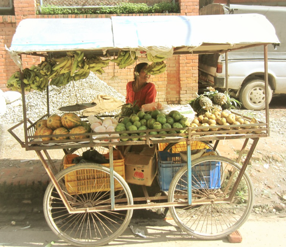 Baktapur market, nepal, asia, kathmandu valley, nepali markets, fruit stall
