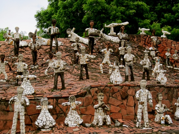 chandigarh, developed cities in india, fantasy rock gardens, northern india