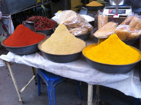india, jodhpur, markets in india, indian spices, masala, curry