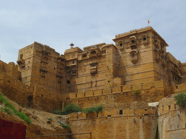 jaisalmer fort, jaisalmer, rajasthan, golden city, india, travelling in india, indian desert