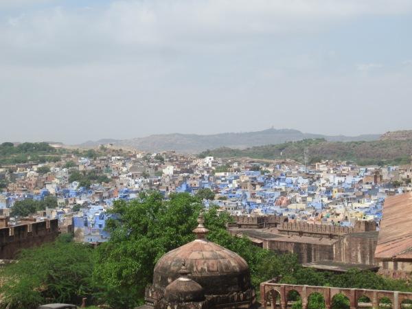 jodhpur, the blue city, rajasthan, india, northern india, asia