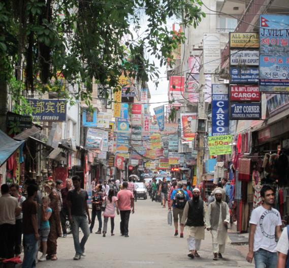 Kathmandu streets, nepal, asia, kathmandu valley