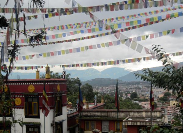 monkey temple, swayambunath, nepal, kathmandu, hindu temple, kathmandu valley