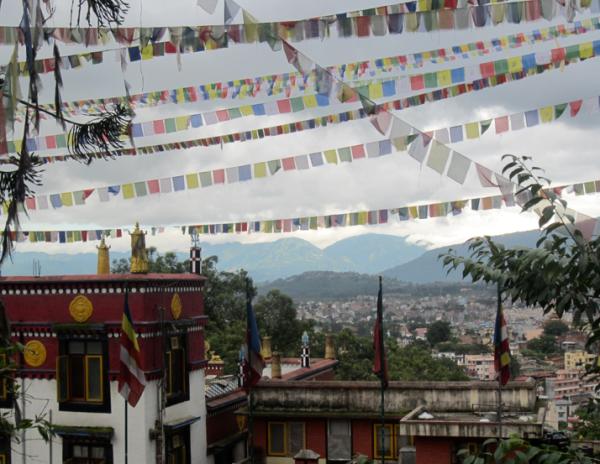 Monkey Temple, kathmandu, nepal, asia, hindu temple, swayambunath