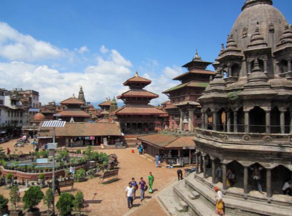 Patan, kathmandu valley, kathmandu, nepal, asia