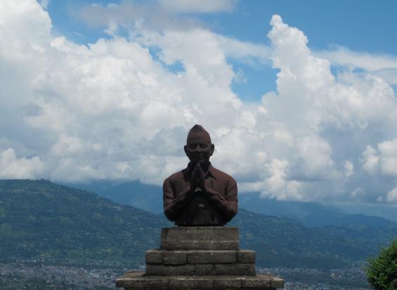Peace Pagoda, pokhara, nepal, asia