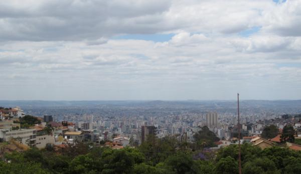 belo horizonte, minas gerais, brazil, south america, praça do papa, bh, view in belo horizonte