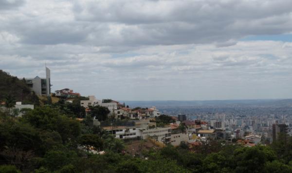 belo horizonte, minas gerais, brazil, south america, praça do papa, bh, view in belo horizonte, morros em bh
