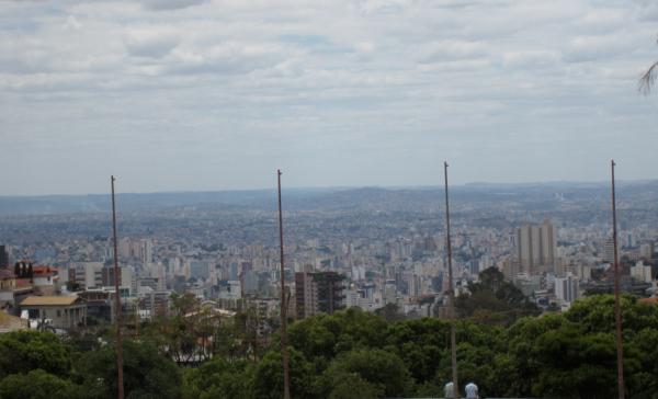 belo horizonte, minas gerais, brazil, brasil, latin america, south america, praça do papa, bh, view in belo horizonte