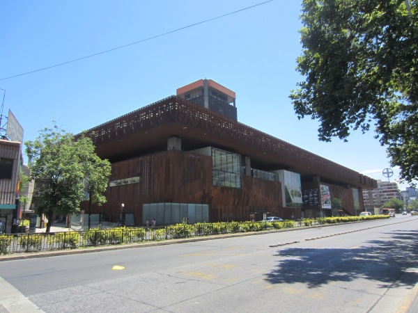 santiago, chile, gam, south america, cultural center