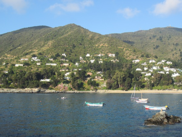 Zapallar, chilean coast, best places in chile, chilean holiday destinations, south america on a shoestring