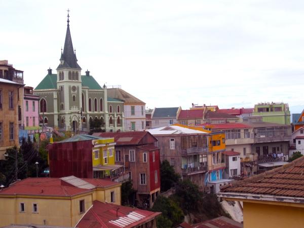 Valparaiso, chile, touristic places in chile, colorful city in chile, south america