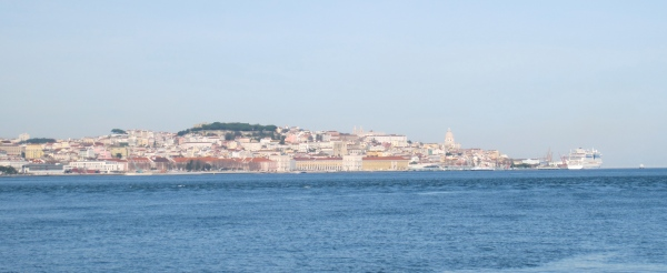 view of lisbon, portugal, europe, visit portugal, best european cities, tejo river