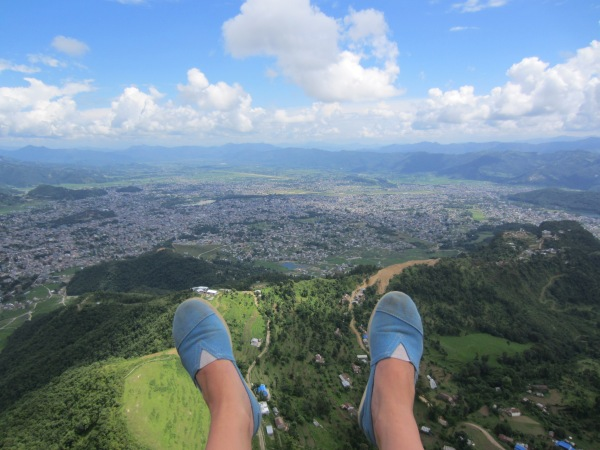 pokhara, nepal, paragliding, anapurna view, asia, things to do in nepal