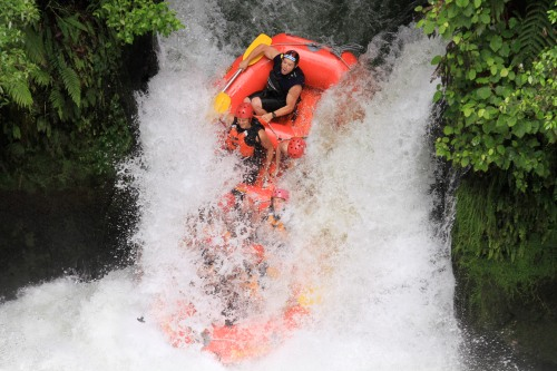 white water rafting, new zealand, south island