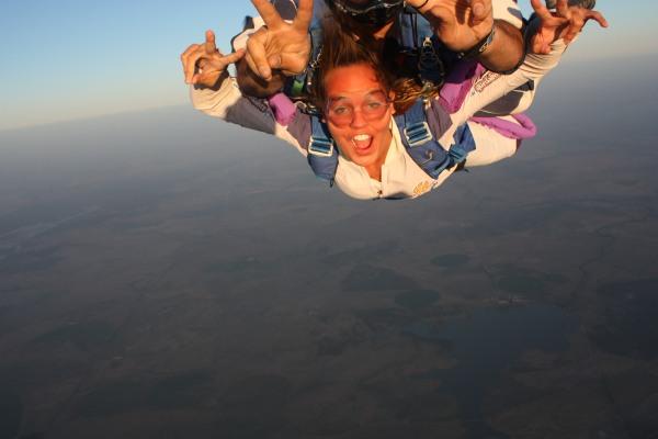 tandem jump, skyding, evora, queda livre, portugal, extreme sports