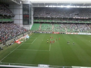 football at the stadium, football game, galo, atletico, football match, futebol, guarani, estadio independencia, belo horizonte, football teams