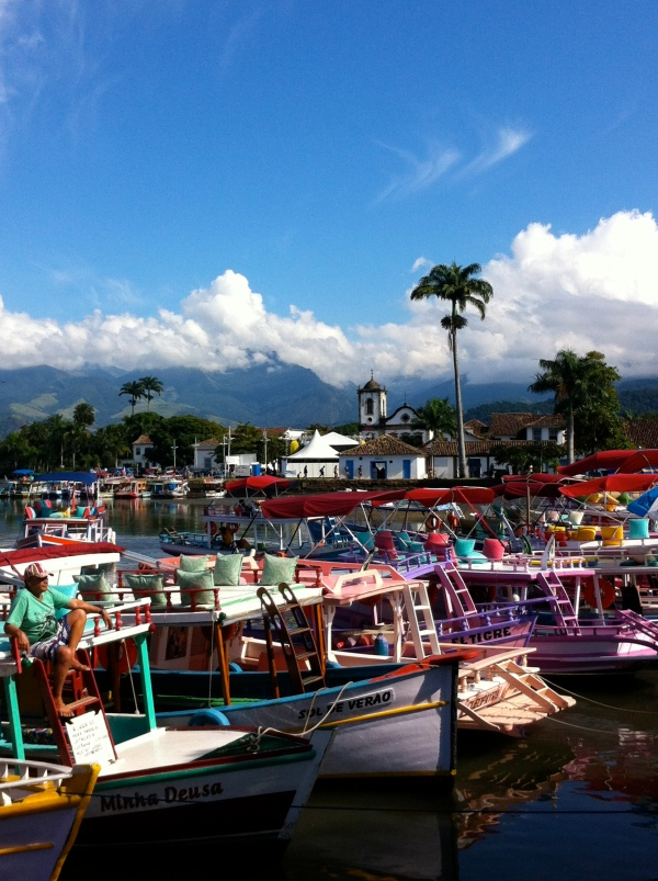 paraty boats, colonial villages in brazil, portuguese influence in brazil, bourbon jazz festival, paraty festivals, trindade, best destinations in brazil, alternatives to rio de janeiro
