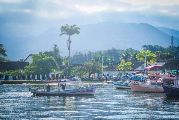 paraty boat trip, trindade, brazil, cool places to go in brazil, alternatives to rio de janeiro