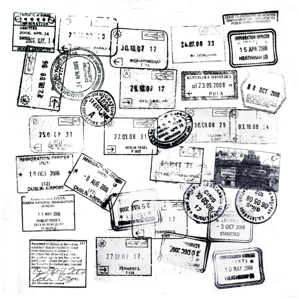 passport stamps, brazil, south america, loosing a passport abroad, what to do when you loose your passport, portuguese consulate in belo horizonte