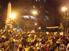 protestos no brasil, protests in belo horizonte, praça sete manifestações, vem pra rua brasil, vem pra rua bh, acorda brazil, wake up brazil, fifa world cup 2014