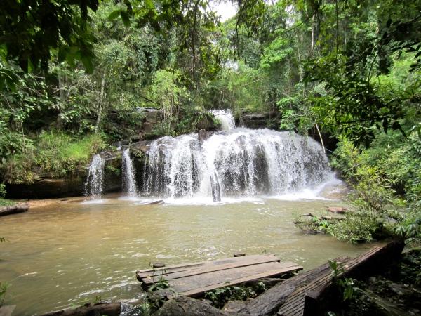 waterfall, jungle trekking, chiang mai, north of thailand
