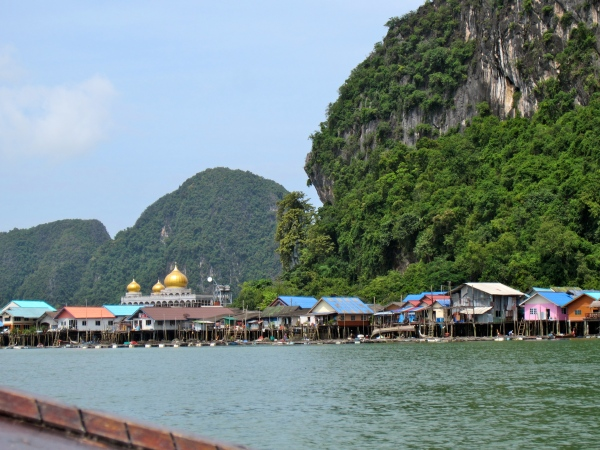 thailand, southwest coast, beaches in south thailand, krabi, railay beach, most famous beaches in the world, beautiful destinations, floating village, muslim village, indonesian fishermen in thailand