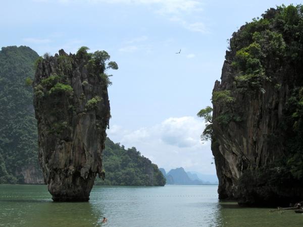 thailand, southwest coast, beaches in south thailand, krabi, railay beach, most famous beaches in the world, beautiful destinations, james bond island
