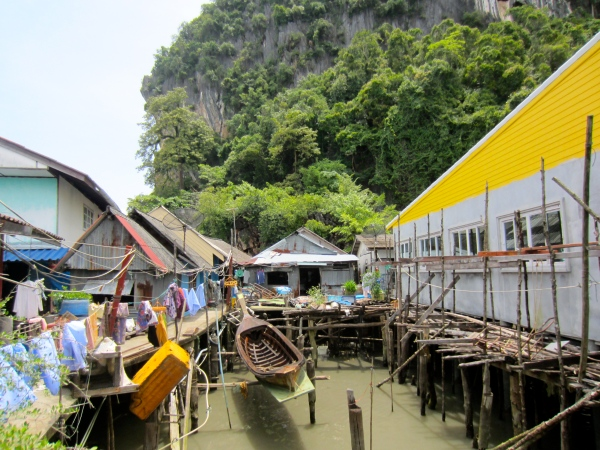 thailand, southwest coast, beaches in south thailand, krabi, railay beach, most famous beaches in the world, beautiful destinations, floating village, muslim village, indonesian fishermen in thailand, fishing thai boats, typical fishing boat