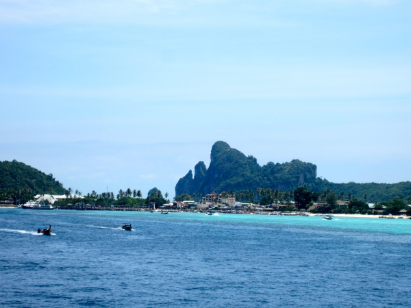 thailand, southwest coast, beaches in south thailand, krabi, railay beach, most famous beaches in the world, beautiful destinations, floating village, muslim village, indonesian fishermen in thailand, fishing thai boats, typical fishing boat, koh phi phi, phi phi leh, famous islands in thailand