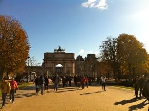 louvre, paris, france, cool places to visit, l'arc de triumph