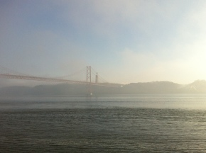 Ponte 25 de Abril, lisboa, what feels like home, portugal, best city in the world, ponte sobre o tejo, san francisco similar brodge, tagus river, teju