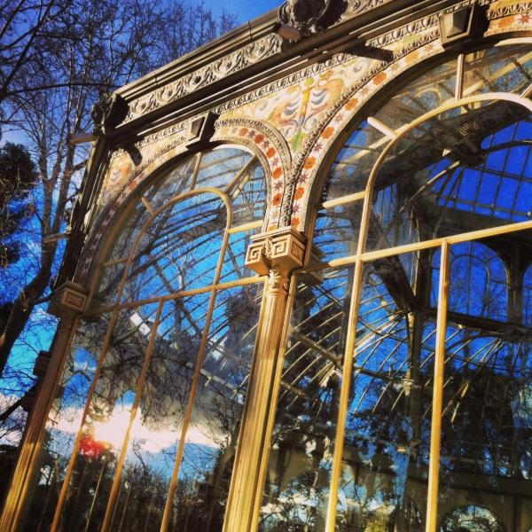 crystal palace, palacio de cristal, madrid, parc del retiro, cool places in madrid, spain, espanol, best places in madrid