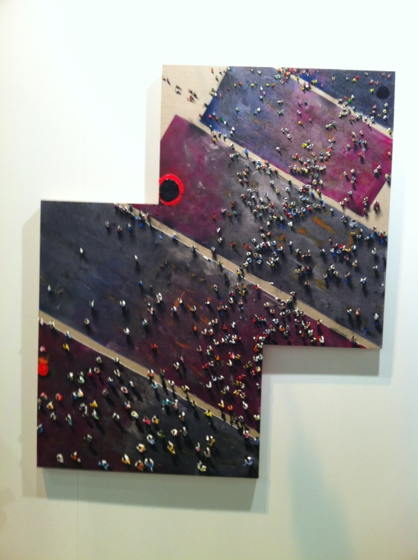 madrid, arco 2014, contemporary art, paintings, juan genoves, painting artists, famous painters