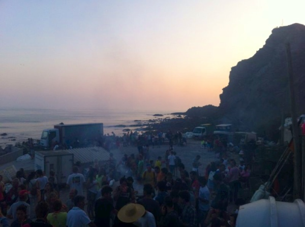 fishermens party, sardine barbeque, fish bbq, portugal, best places in europe, arrifana, best hidden places in portugal, south coast, western coast, rota vicentina