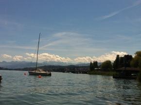 lake zurich, switzerland, swiss german, the mountains