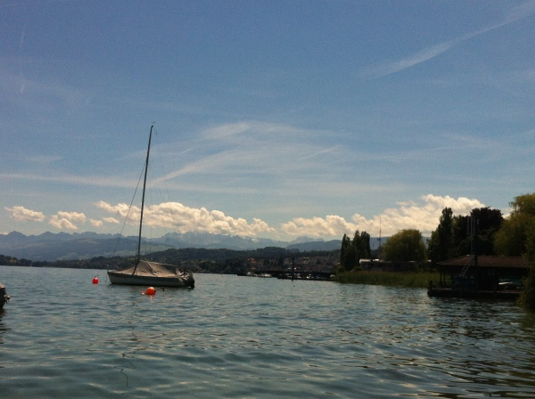 lake zurich, switzerland, swiss german, the mountains