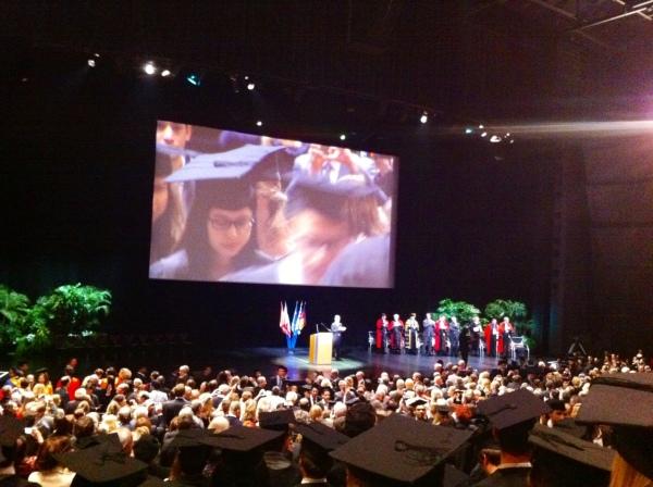 escp europe, escp, graduation ceremony 2014, graduates 2014, palais des congres, paris
