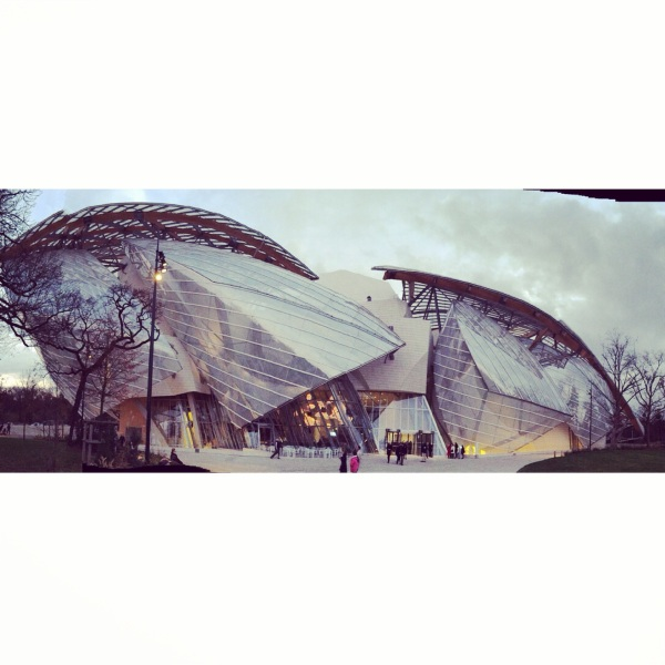 louis vuitton foundation, frank gehry recent projects, paris, things to do in paris