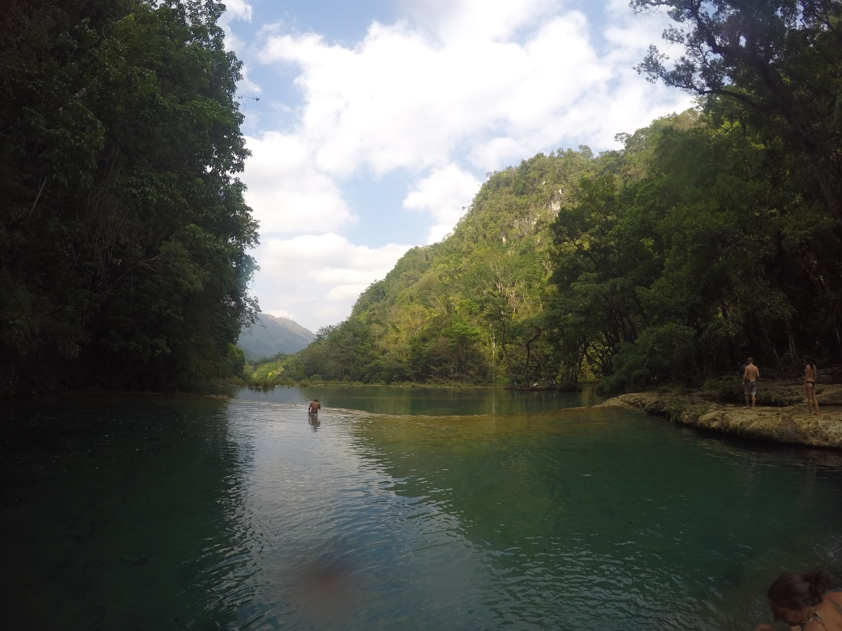 Guatemala - visiting Semuc Champey and Rio Dulce