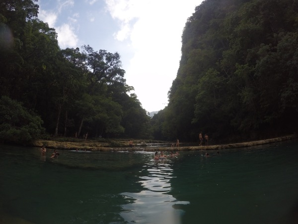 semuc champey, center of guatemala, where to go, natural swimming pools,