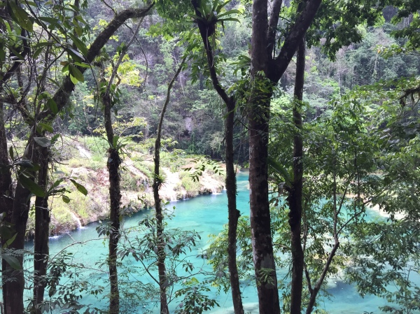 semuc champey, visit guatemala, best places to visit, top countries in the world, natural pools, lanquin, zaphire